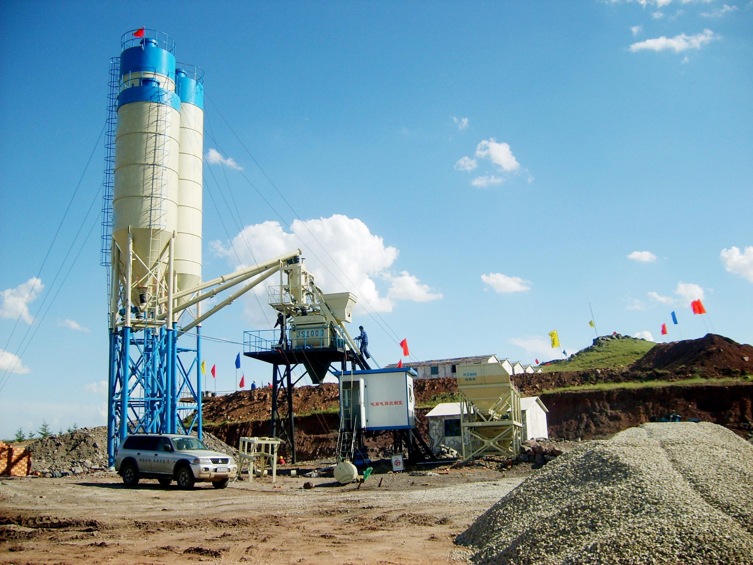 concrete batch plant manufacturers-AIMIX GROUP