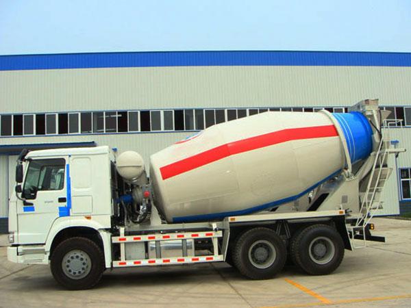 mobile concrete mixer trucks for sale