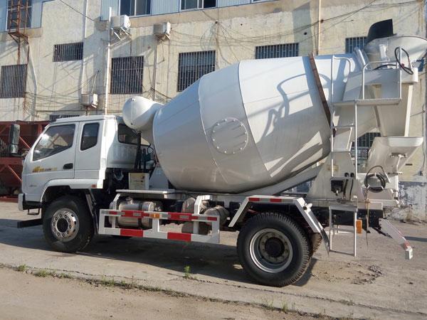 small size cement truck machine