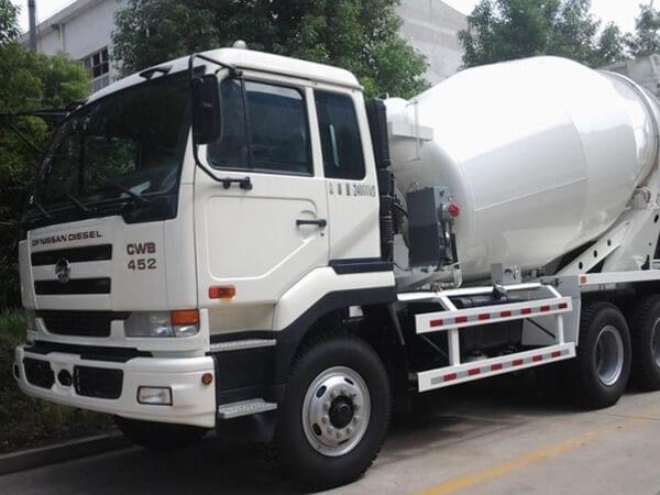 ready mix concrete mixer cement truck