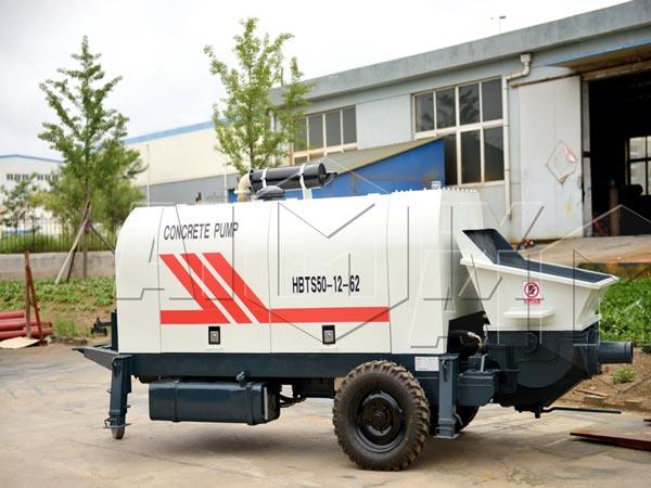 diesel trailer concrete pump