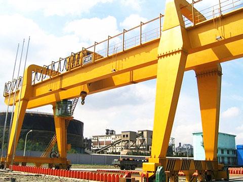 rubber tired gantry crane