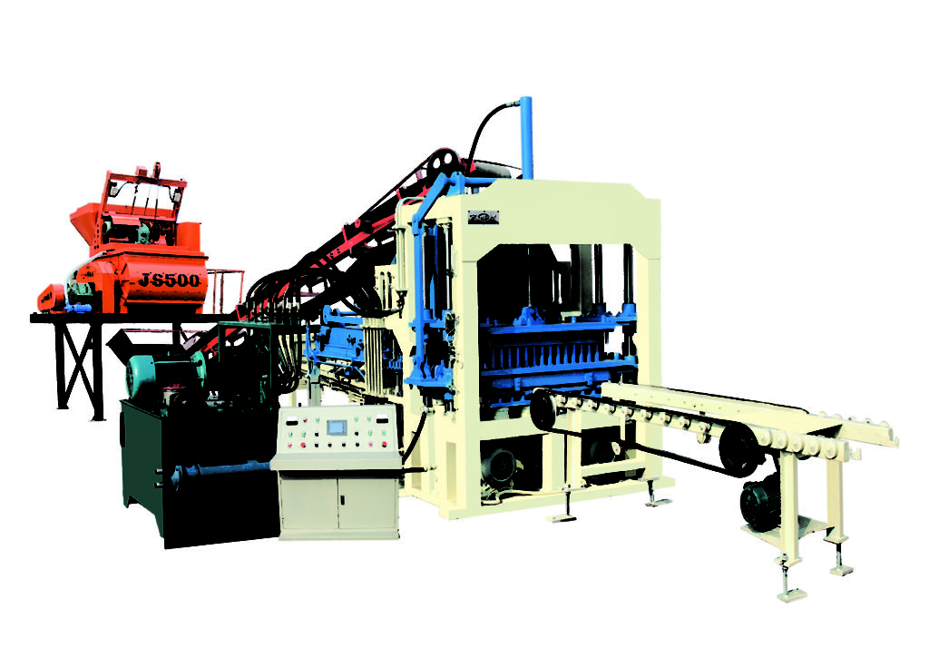 QT4-15C concrete block machine