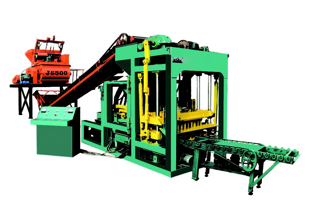 QTJ4-25 automatic concrete block machine