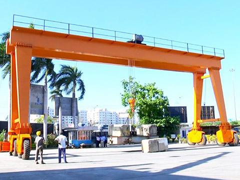 rubber tired gantry crane sales
