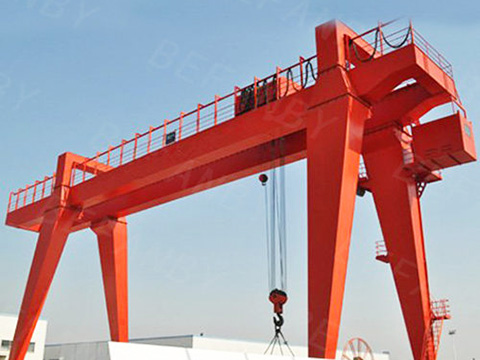 double girder cantilever gantry crane  sale