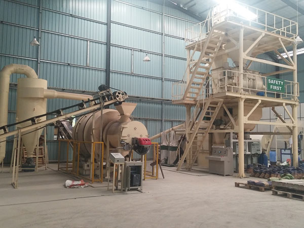 10t ready mix plaster plant