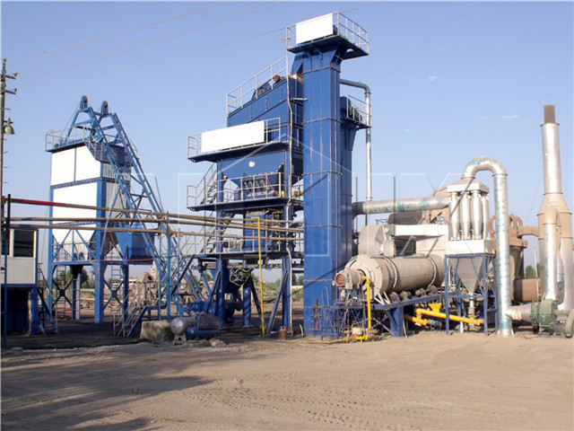 China's Asphalt Mixing Plants