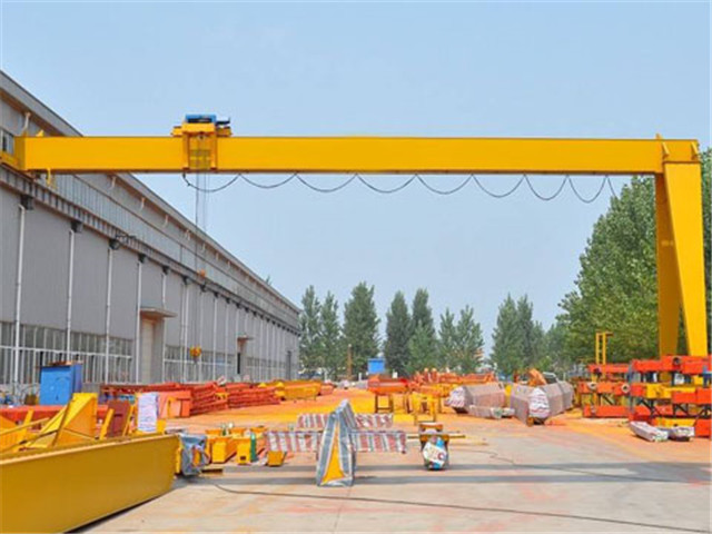 Semi double girder gantry crane form China