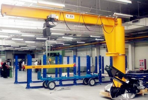 Top Features And Advantages Of Using A Pillar Jib Crane