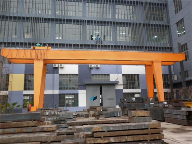 High quality 25 ton double girder gantry crane