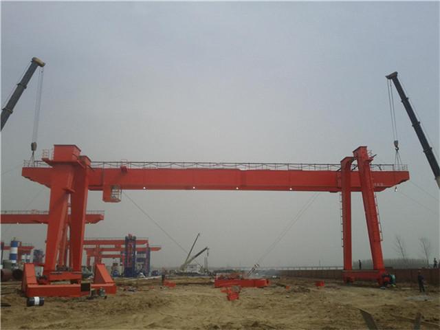 Choose 25 ton double girder gantry crane