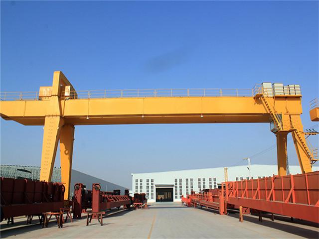 Give 25 ton double girder gantry crane