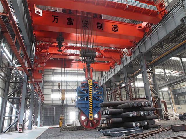 Salling overhead crane 100t in China